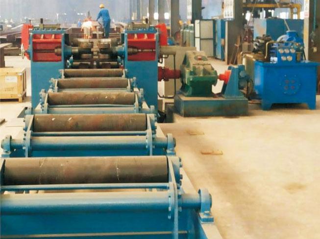 H型钢重钢80/100液压矫正机